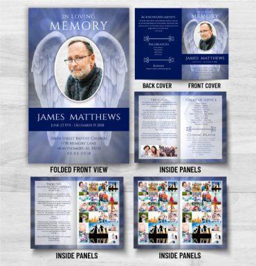 Obituary Memorial Card Options
