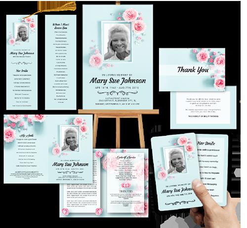 Funeral Program Memorial Printing