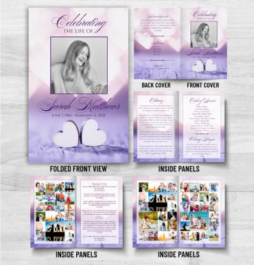 Celebrate Of Funeral Pamphlet Printing